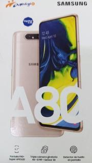 Celular Samsung A80 Rose Gold / Nuevo Estética De 10!