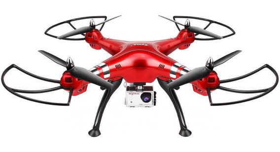 Drone Syma X8HG com cámara Full HD red