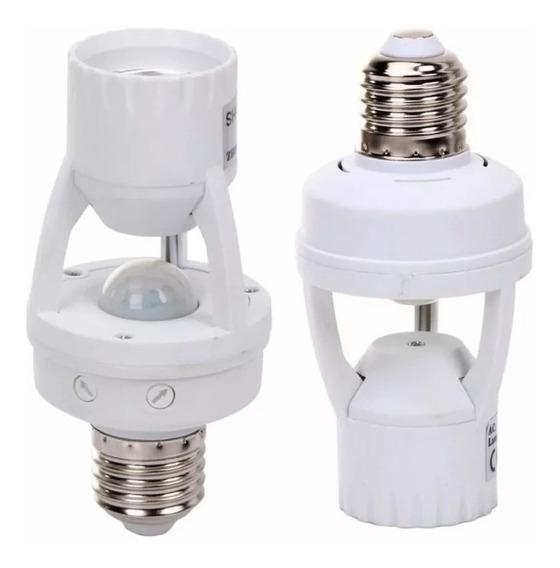4 Sensor Bocal Acende Lampada Automático Ajuste De Tempo