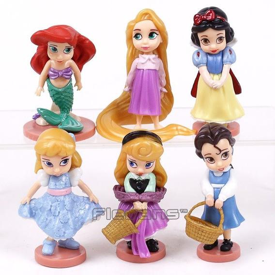 Princesas Cinderella Rapunzel Aurora Ariel Bella Branca Neve