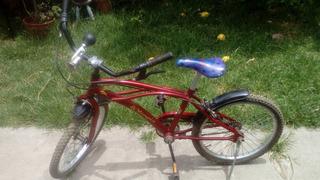 Bicicleta Tipo Bmx Rod. 20 Casi Sin Uso