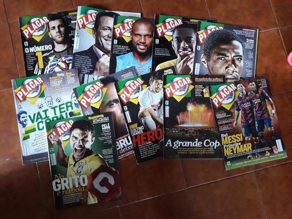 Lote De Revistas Placar 2014/2015 - 11 Revistas
