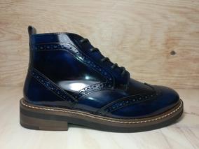 Zapatos Paruno Dama P127042 Azul