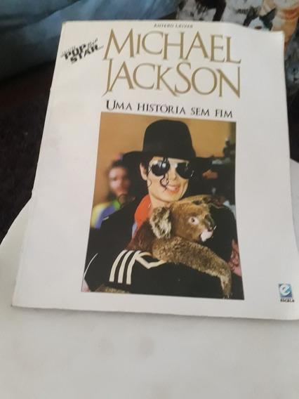 Livro Michael Jackson Uma História Sem Fim.antero Leivas