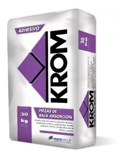 Adhesivo Klaukol Fluido 30 Kgs Krom Baja Absorcion
