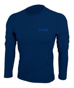 Camisa Blusa Proteção Uv50 Masculina Vopen Poliamida