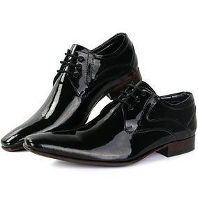 c133b5e23 Sapatofran Sapato Social Masculino Couro Verniz Super Luxo - Sapatos ...