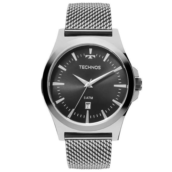 Relógio Masculino Technos Analógico 2115lal/0p Aço
