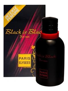 Perfume Black Is Black For Men Paris Elysees Edt 100 Ml