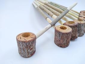 Cachimbo Jurema Preta Indígena Xamânico Umbanda Pipe