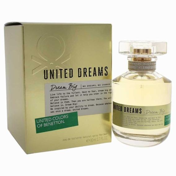 Benetton United Dreams Dream Big Feminino 80ml