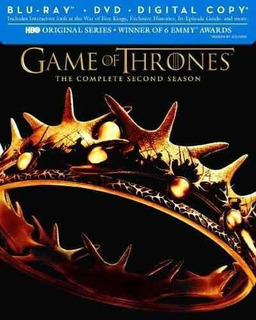 Blu-ray : Game Of Thrones: The Complete Second Season (w...