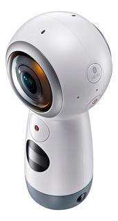 Câmera Digital Samsung Gear 360 15mp Com Bluetooth - Branco