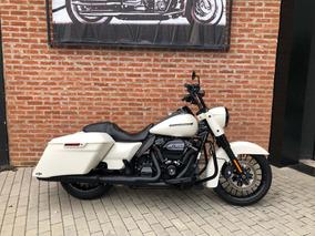 Harley Davidson Road King Special 2019 Branca Com 1600km