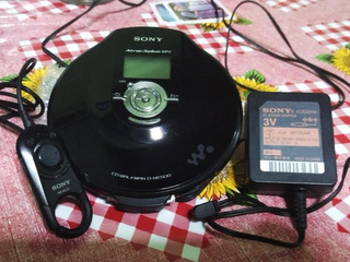 Discman Walkman Sony D-ne500 Mp3 Minidisc
