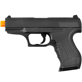 Pistola De Airsoft Spring G19 Walther P22 Full Metal 6mm - G