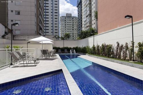 Apartamento Para Venda Em São Paulo, Santo Amaro, 2 Dormitórios, 1 Suíte, 2 Banheiros, 1 Vaga - Cap3252_1-1453681