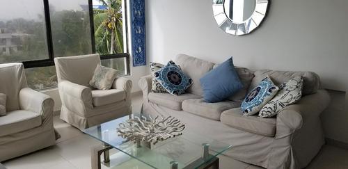 Imagen 1 de 14 de Apartamento Con Vista Al Mar