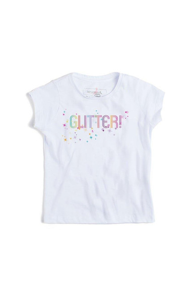 Camiseta Minina Glitter Reserva Mini