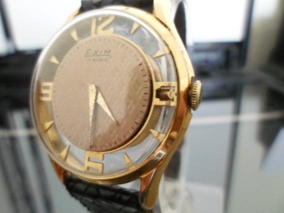 Reloj Exim Calibre D40 Transparente Skeletor Caballero