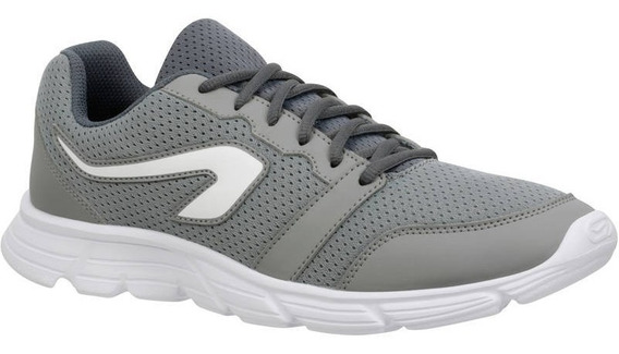 Tenis Running Trail Atletismo Ekiden One Hombre Gris