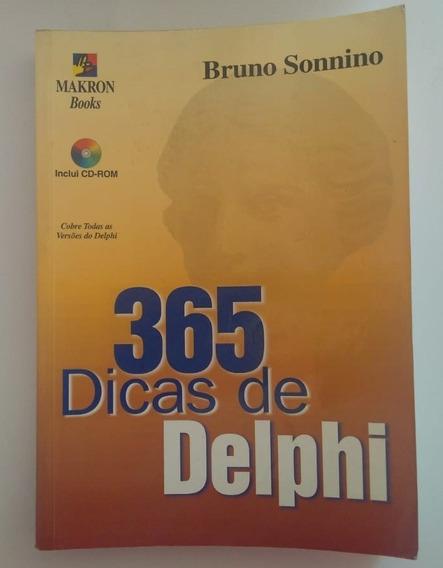 Livro 365 Dicas De Delphi Bruno Sonnino