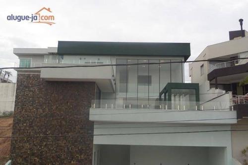 Imagem 1 de 21 de Sobrado Com 4 Dormitórios À Venda, 450 M² Por R$ 2.500.000,00 - Condomínio Residencial Jaguary - São José Dos Campos/sp - So1369
