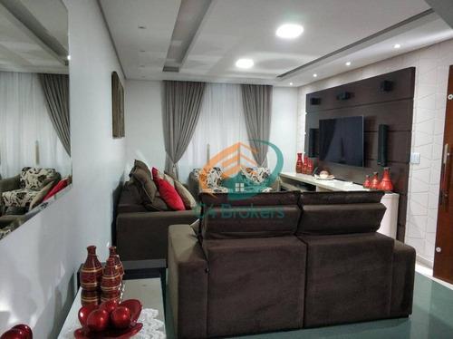 Imagem 1 de 30 de Sobrado Com 3 Dormitórios À Venda, 162 M² Por R$ 850.000,00 - Vila Rosália - Guarulhos/sp - So0261
