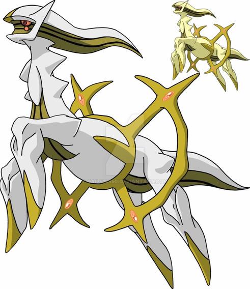 Arceus Shiny Evento 6ivs Americano Pokemon Ultra Moon/sun