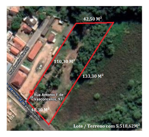 Imagem 1 de 8 de Chácara Com 5.518,62 M² Em Santo Antônio De Posse