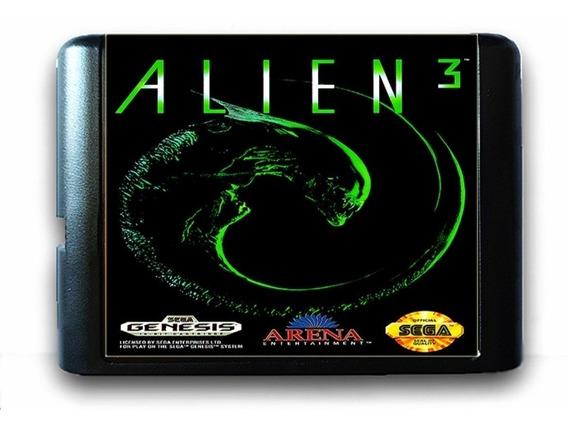 Alien 3 Sega Mega Drive Genesis Tectoy Novo + Garantia