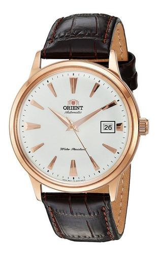 Reloj Orient Cuero Automático Cúpula Tecnología Japonesa