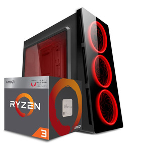 Computador Gamer Ryzen 3 2200g Vega 8- 8gb Ddr4- Hd 1tb