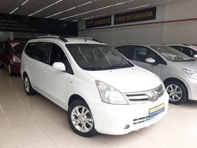 Nissan Grand Livina 1.8 Sl 16v Flex 4p Automatico 2013/2014