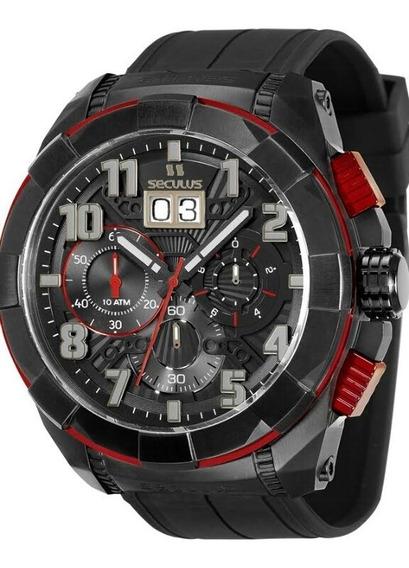 Relógio Seculus Masculino Upper 13009gpsvpu4