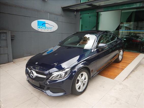 Mercedes-benz C 180 C180 Coupé Avantgarde 2018 Azul C/ 14 Mi