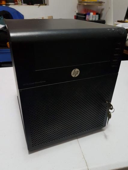 Servidor Microserver Hp N36l 4gb/ram Nas Storage