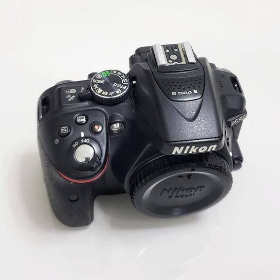 Kit Camera Nikon D5300 Dslr Preta + 3 Lentes + Brindes