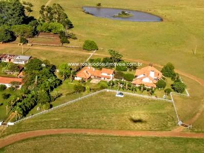 Fazenda Com 963 Hectares Para Lavoura Em São Borja - Rs