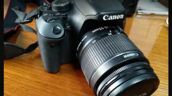 Canon T3i +lente 18-55mm. Tenho Outros Equipamentos. Confira