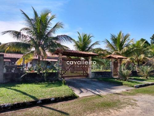 Chácara Com 4 Dormitórios À Venda, 2500 M² - Ubatiba - Maricá/rj - Ch0071