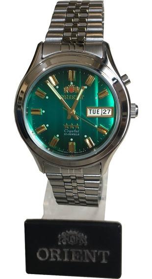 Relogio Orient Automatico Masculino - Verde Original Nfe
