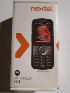Nextel Motorola I418 Estado De Zero Na Caixa