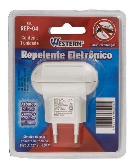 Repelente Eletrônico Ultrassônico Para Pernilongos Rep-04