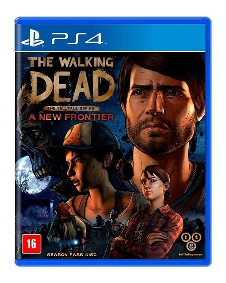 The Walking Dead A New Frontier Ps4! Mídia Física Lacrado!