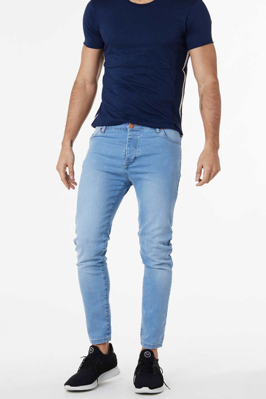 Jean Slim Trod Azul Hombre Cuotas