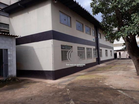 Galpão Industrial Com Ponte Para Locação, Cidade Industrial Satélite De São Paulo, Guarulhos. - Ga0160