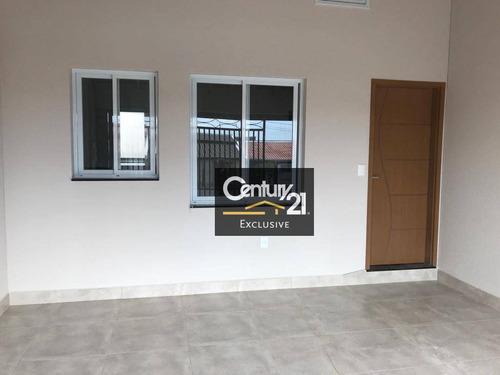Imagem 1 de 16 de Casa À Venda, 66 M² Por R$ 320.000,00 - Jardim Dos Colibris - Indaiatuba/sp - Ca0755