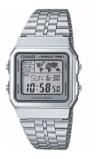 Reloj Casio Hombre Modelo A-500wa-7d - Clásico -