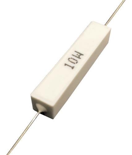 Resistor De Porcelana 4k7 10w - Caixa Com 100 Peças